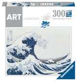 Puzzle 300 p Art collection - La Grande Vague de Kanagawa / Hokusai Puzzle;Puzzle adulte - Ravensburger
