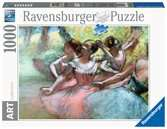 Four ballerinas on the stage (pastel), Degas, Edgar (1834-1917) Puslespil;Puslespil for voksne - Ravensburger