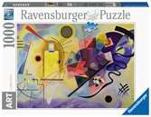 Yellow, Red, Blue, 1925 (oil on canvas), Kandinsky, Wassily (1866-1944) Puslespil;Puslespil for voksne - Ravensburger