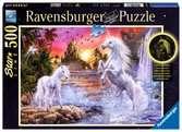 Einhörner am Fluss Puzzle;Erwachsenenpuzzle - Ravensburger