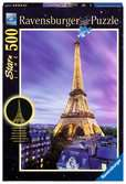 Funkelnder Eiffelturm Puzzle;Erwachsenenpuzzle - Ravensburger