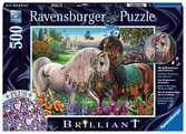 Schitterend paardenpaar Puzzels;Puzzels voor volwassenen - Ravensburger