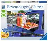 Drive-Thru Route 66 Jigsaw Puzzles;Adult Puzzles - Ravensburger