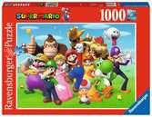 Super Mario Puzzle;Erwachsenenpuzzle - Ravensburger