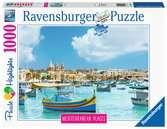 Puzzle 1000 p - Malte la méditerranéenne (Puzzle Highlights) Puzzle;Puzzle adulte - Ravensburger