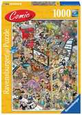 Comic puzzle - Hollywood Puslespil;Puslespil for voksne - Ravensburger