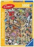 Comic puzzle - Hollywood Puzzels;Puzzels voor volwassenen - Ravensburger