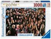 Challenge - Harry Potter, 1000pc Puslespil;Puslespil for voksne - Ravensburger