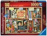 The Artist s Cabinet, 1000pc Puslespil;Puslespil for voksne - Ravensburger