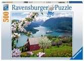 Scandinavien landscape 500p Pussel;Vuxenpussel - Ravensburger