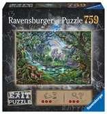 Escape Puzzle 759pc Unicorns Puzzles;Adult Puzzles - Ravensburger
