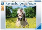 White horse               500p Puslespil;Puslespil for voksne - Ravensburger