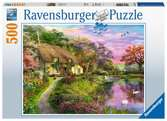 Ravensburger Country House 500 piece Jigsaw Puzzle for Adults & for Kids Age 10 and Up Puslespil;Puslespil for voksne - Ravensburger