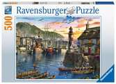 Sunrise at the Port, 500pc Puslespil;Puslespil for voksne - Ravensburger