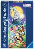 ZAMKI Disney a 1000 EL Puzzle;Puzzle dla dzieci - Ravensburger