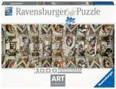 Sixtinská kaple 1000 dílků Panorama 2D Puzzle;Puzzle pro dospělé - Ravensburger