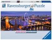 Puzzle 1000 p - Londres de nuit (Panorama) Puzzle;Puzzle adulte - Ravensburger