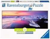 Jökulsárlón, Island 1000 dílků Panorama 2D Puzzle;Puzzle pro dospělé - Ravensburger