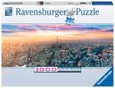 PARYŻ O ŚWICIE 1000 EL. Puzzle;Puzzle dla dorosłych - Ravensburger