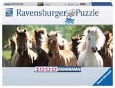 Puzzle 1000 p - Chevaux sauvages (Panorama) Puzzle;Puzzle adulte - Ravensburger