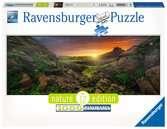 Slunce na Islandu 1000 dílků Panorama 2D Puzzle;Puzzle pro dospělé - Ravensburger