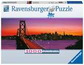 San Francisco, Golden Gate Bridge de noche Puzzles;Puzzle Adultos - Ravensburger