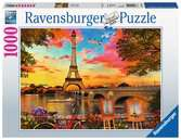Banks of the Seine 1000p Puslespil;Puslespil for voksne - Ravensburger
