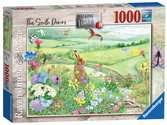 Ravensburger Walking World No.1 - South Downs 1000 piece Jigsaw Puzzle  for Adults & for Kids Age 12 and Up Puzzles;Adult Puzzles - Ravensburger