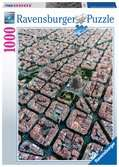 Barcelona from above, 1000pc Puslespil;Puslespil for voksne - Ravensburger