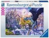 Puzzle 1000 p - Le château des dragons Puzzle;Puzzles adultes - Ravensburger