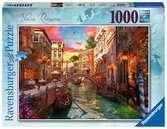 Romance v Benátkách 1000 dílků 2D Puzzle;Puzzle pro dospělé - Ravensburger