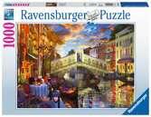 Tramonto sul ponte di Rialto Puzzle;Puzzle da Adulti - Ravensburger