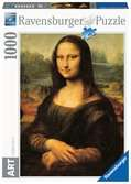 DA VINCI:MONA LISA 1000 EL. Puzzle;Puzzle dla dorosłych - Ravensburger