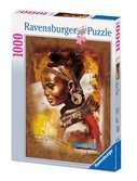 Puzzle 1000 p - Jeune Africaine Puzzle;Puzzle adulte - Ravensburger