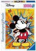 Retro Mickey Mouse, 1000pc Puzzles;Adult Puzzles - Ravensburger