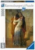 Puzzle 1000 p Art collection - Le baiser / Francesco Hayez Puzzle;Puzzle adulte - Ravensburger