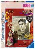 Portrét Fridy Kahlo 1000 dílků 2D Puzzle;Puzzle pro dospělé - Ravensburger