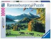 Berchtesgaden gegen Watzmann Puzzle;Erwachsenenpuzzle - Ravensburger