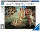 SANDRO BOTTICELLI -NARODZINY WENUS 1000EL Puzzle;Puzzle dla dorosłych - Ravensburger