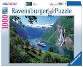 Norwegischer Fjord Puzzle;Erwachsenenpuzzle - Ravensburger