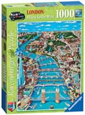London - A View to the West Puzzles;Adult Puzzles - Ravensburger