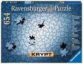 Krypt puzzle 654 p - Silver Puzzle;Puzzle adulte - Ravensburger