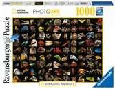 National Geographic Ohromující zvířata 1000 dílků 2D Puzzle;Puzzle pro dospělé - Ravensburger