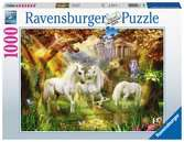 Unicorns in the Forest Pussel;Vuxenpussel - Ravensburger