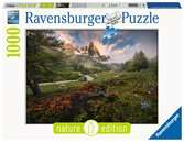 Atmosfera pittoresca nella Vallée de la Clarée, Alpi francesi Puzzle;Puzzle da Adulti - Ravensburger