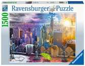 New  York Winter & Summer Puslespil;Puslespil for voksne - Ravensburger