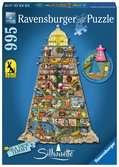 COLIN TOHOMPSON - W KSZTAŁCIE LATARNI 995EL Puzzle;Puzzle dla dorosłych - Ravensburger