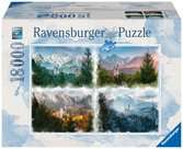 Ravensburger --- Castle through the Seasons 18000 piece Jigsaw Puzzle for Adults & for Kids Age 12 and Up Puslespil;Puslespil for voksne - Ravensburger