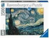 Vincent Van Gogh: Noche estrellada Puzzles;Puzzle Adultos - Ravensburger