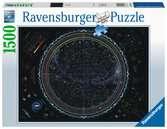 PRZESTRZEŃ KOSMICZNA 1500EL Puzzle;Puzzle dla dorosłych - Ravensburger
